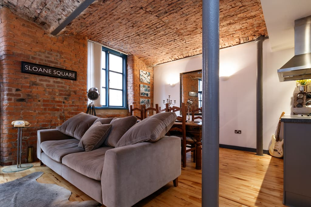 Stylish 1 bed Flat -Mill Conversion - Apartments for Rent ...