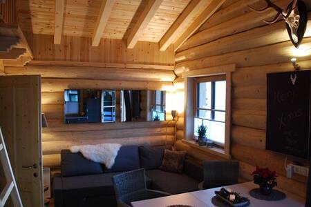 Charming Karwendel Log Cabin for up to 5 people