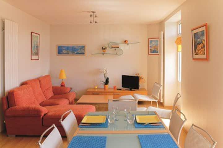Appartement moderne vue mer