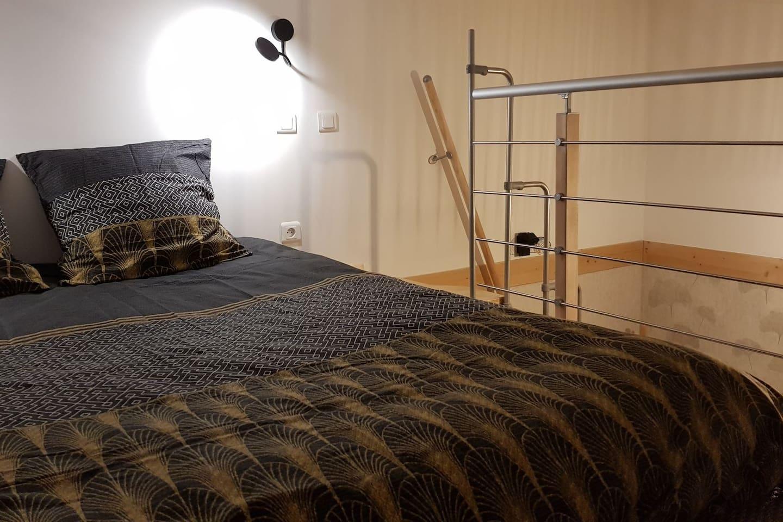 mezzanine futon