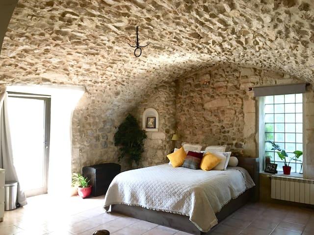 Loft romantique dans ancien château, Hamam