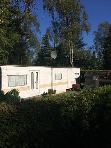 Stacaravan te huur Utrechtse Heuvelrug Doorn - Doorn - Cabaña