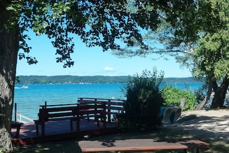 Charming Torch Lake Cottage - Alden - Haus