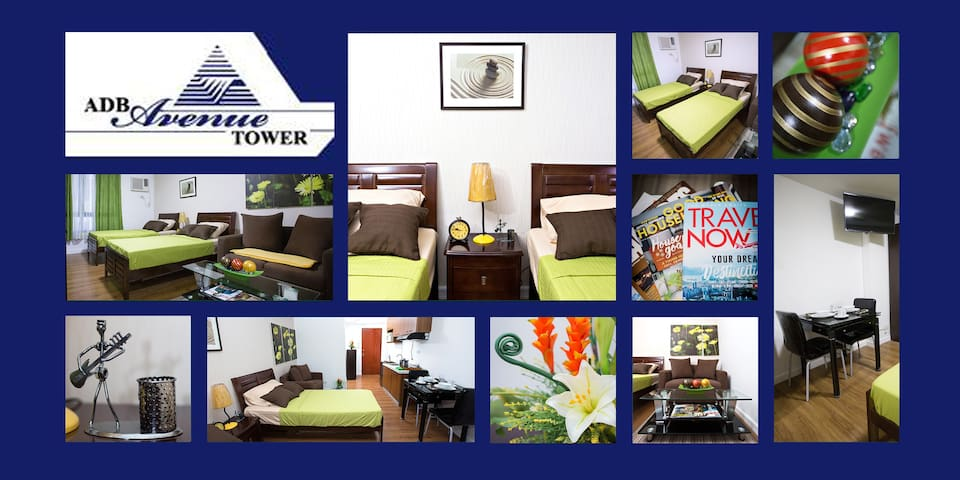 Great Value Stay with Wifi at ADB Ave Tower
