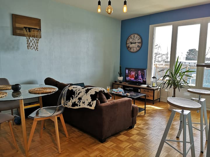 Appartement cosy proche d' Angers