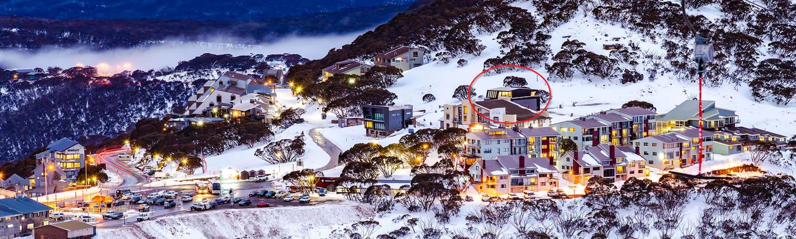 'Mink', Summertime or Snowtime Alpine Retreat