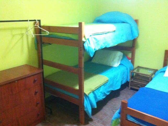 Dormitorio Nº 2 (ahora son 2 literas)