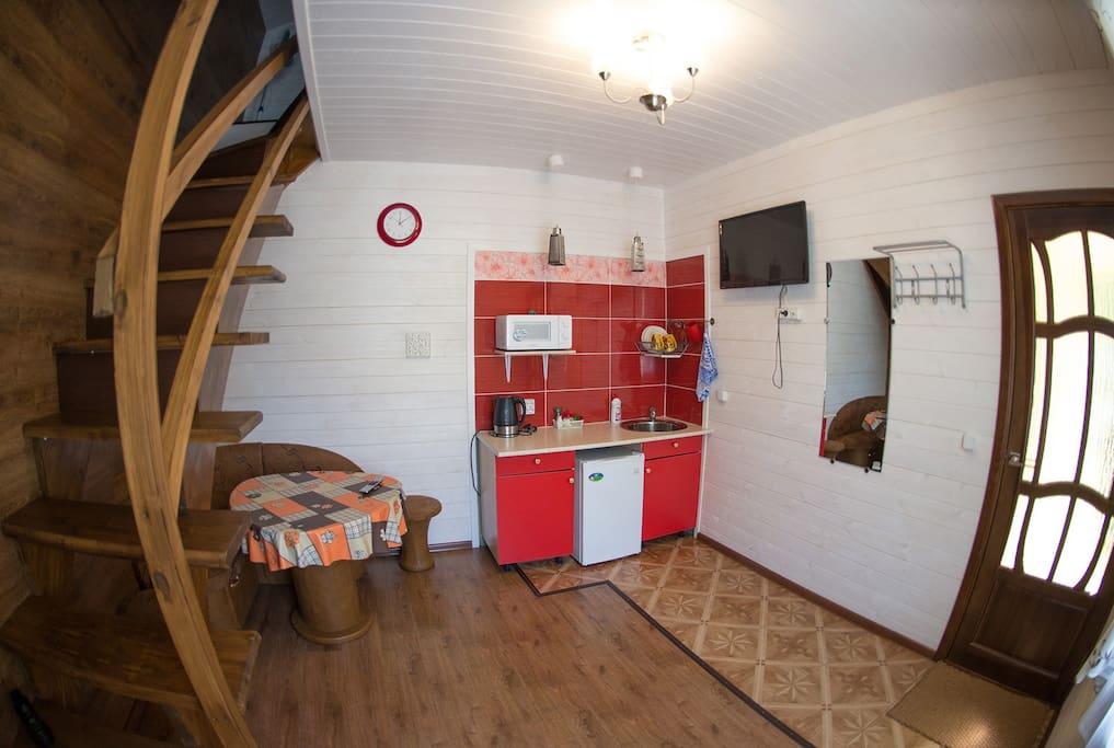 Двухэтажный двухместный номер