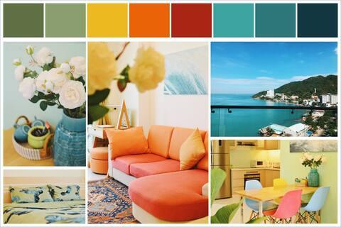 SUNNY CONDO | Modern & Cozy | Sea-Mountain View