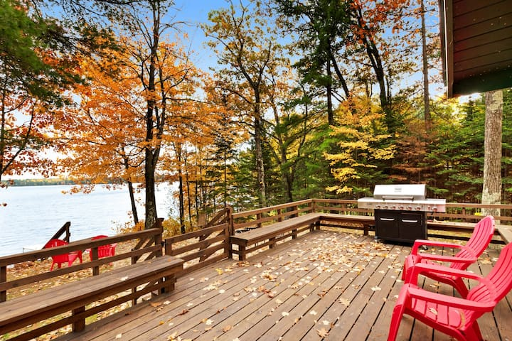 NEW LISTING! Beautiful location with large private dock and in house sauna