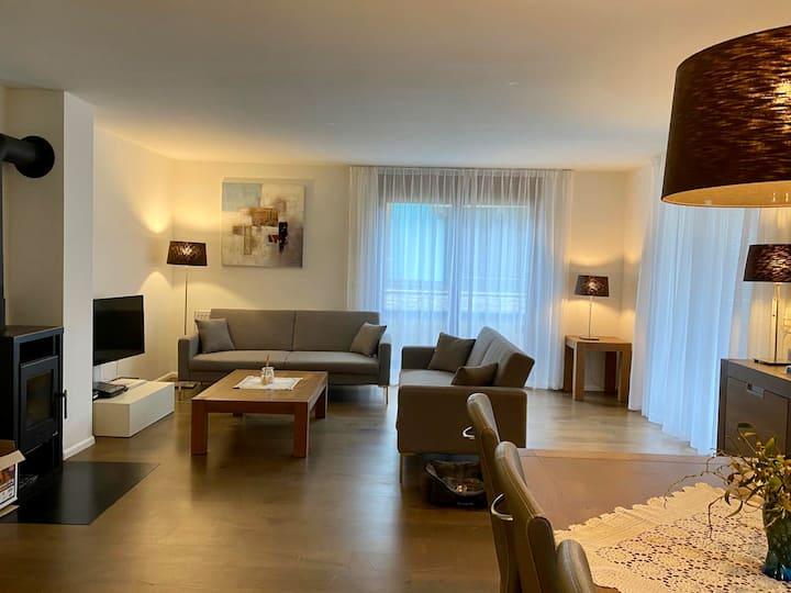 Moderne 4.5 Zimmerwohnung direkt am Walensee