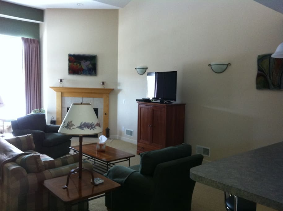 view of living area