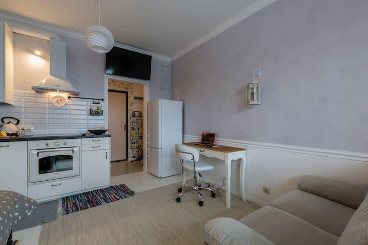 Comfy apartment 10 min. from Pulkovo - Novoselye - Pis