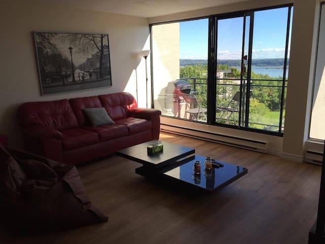 Appartement avec vue sur le fleuve saint-laurent - Ville de Québec - Apartemen