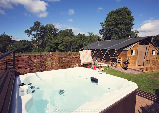 Seven Hills Hideaway - Glamping - Monmouthshire - Tent