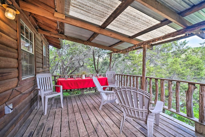 NEW! Cozy Cabin w/ Deck - Nestled by Honey Creek!