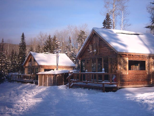 Ma Cabane au Québec - Saint-David-de-Falardeau - 木屋
