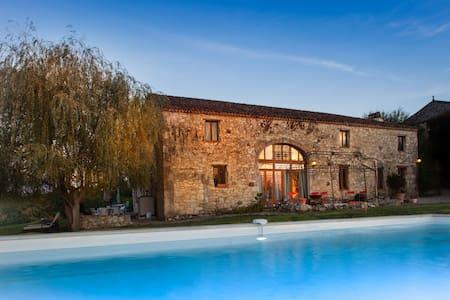 Le Manoir Gite 10 Guests - Heated Pool & Hot Tub