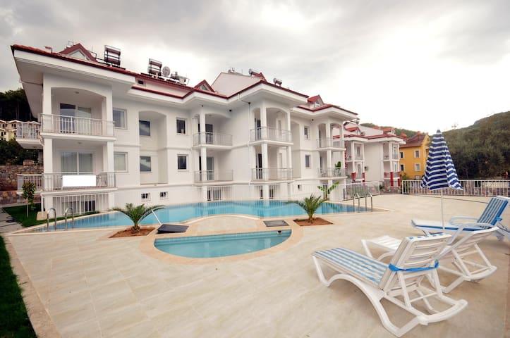 2+1 Apartments in Hisarönü - Ölüdeniz Belediyesi - Lägenhet