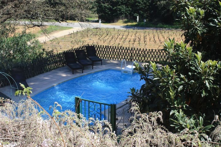 L'Olivier -  Swimming pool, BBQ, Wifi