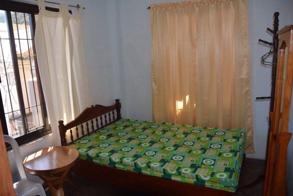 bedroom - can accommodate 3 to 4 pax (with sofa bed upon request/arrangement)
