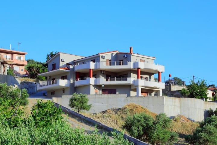 Villas metoxi A1  Ήσυχο περιβάλλον με θέα το βουνό