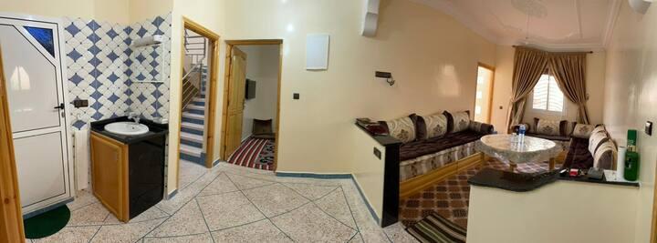 Apartement a Sidi mehmad ben abla  meublé mirleft