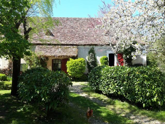 La maison de Lavaure en Périgord.