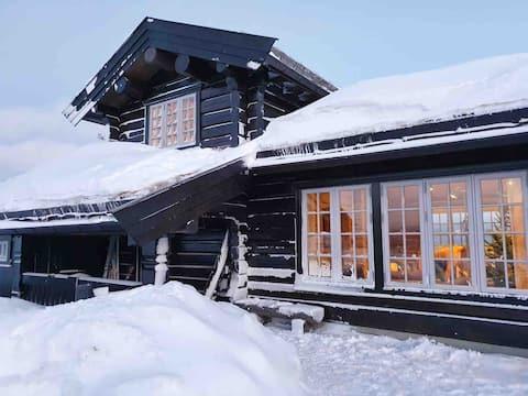 Høstesetra - flott hytte med fantastisk utsikt!