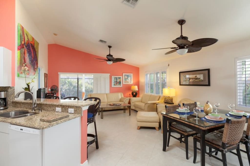 View of open concept