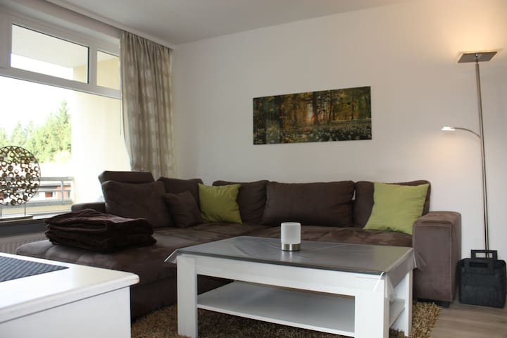 Modern Apartment 65 sqm 3 rooms - Sankt Andreasberg - Flat