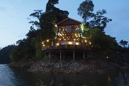 Belum Eco Resort at a paradise Island - Banding Island