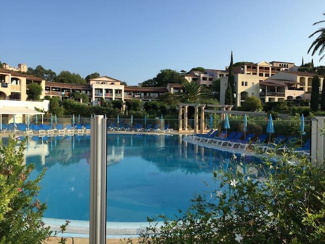 Résidence **** bord de mer golfe de Saint Tropez