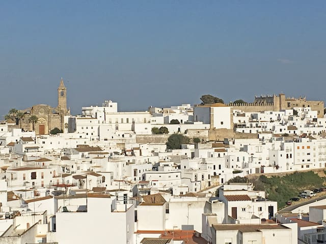Fantastic views over Vejer Old Town, modern aptmt. - Vejer de la Frontera - Apartmen