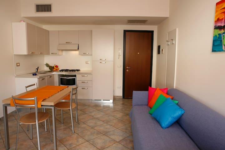 Bilocale Greco&Linda moderno e superaccessoriato - San Bartolomeo Al Mare - Wohnung