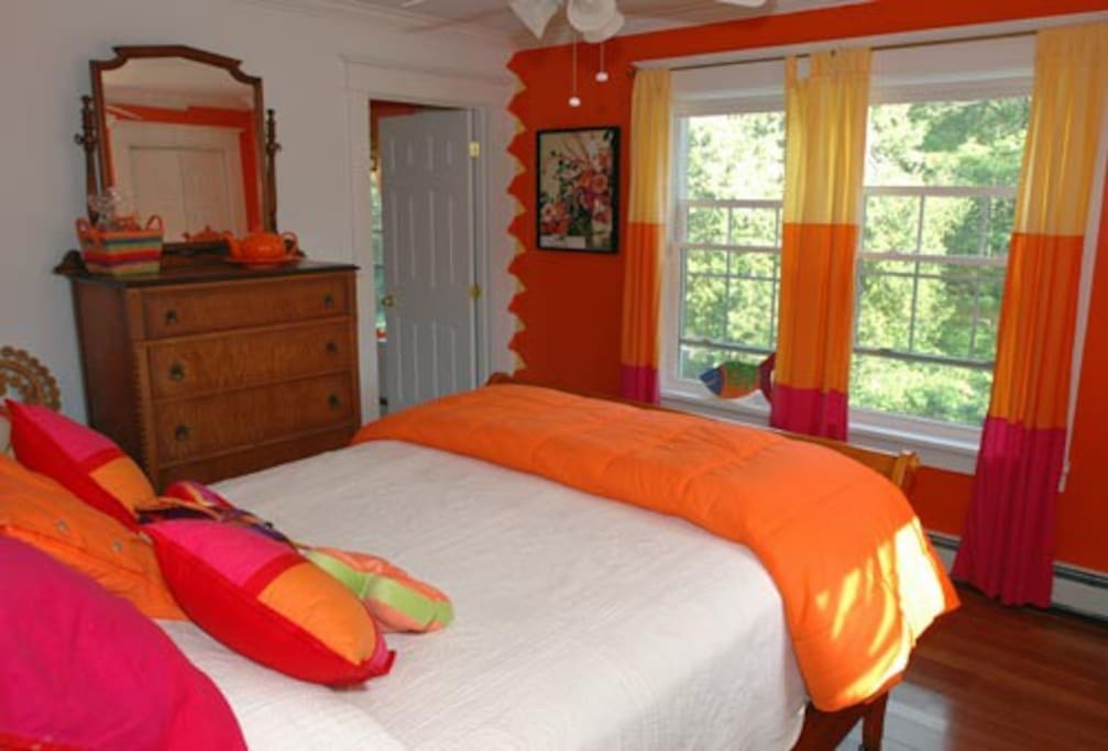 The Tangerine Citrine Bedroom