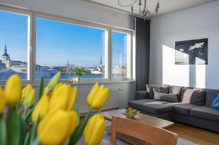 Amazing Old Town View Apartment - Free Parking