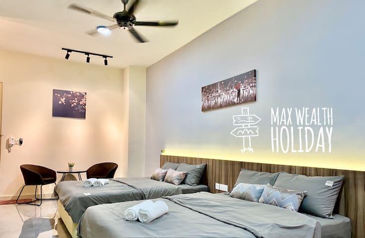 MWHolidayB1611 CozyFamilySuites(4pax)舒适家庭高级套房+WiFi