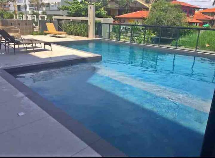 Apartamento 1 quadra mar campeche florianópolis