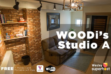 [Woodi's Studio A] Myeong-Dong(house rent) 단기임대가능