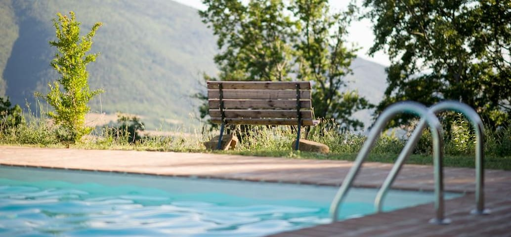 B&B Assisi with panoramic views and pool - Assise - Bed & Breakfast