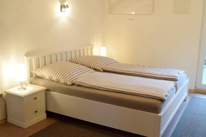 Ferienwohnungen beim Burgberg (Lichtenberg), Appartement Linde(32qm) mit WLAN
