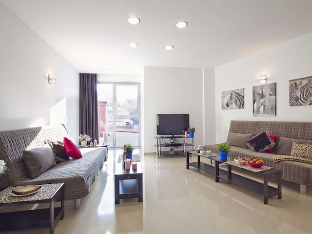 Family Friends 2 bedroom + 1 bathroom - Barcelona - Apartment