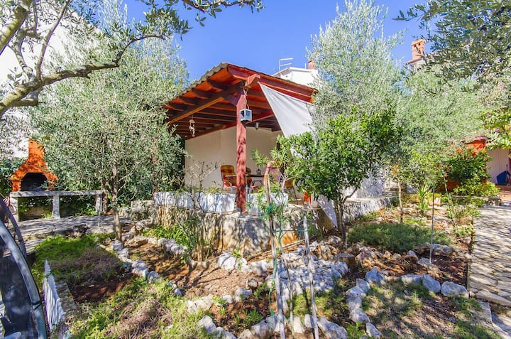 One bedroom house with terrace Stari Grad, Hvar (K-17911)