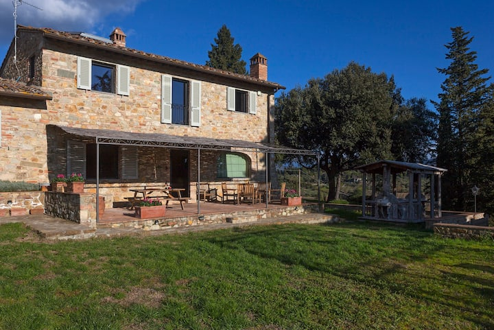 La Casa di Thea amazing farmhouse on Chianti Hills