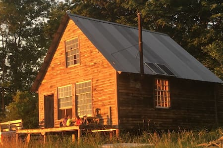 CABIN ON OUR CERTIFIED ORGANIC FARM - Saint Johnsville - Srub