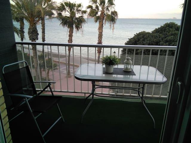 Apartamento en primera línea del Mar Menor.