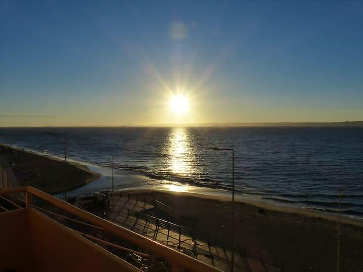 Bello y tranquilo depto en la playa - Todo el año