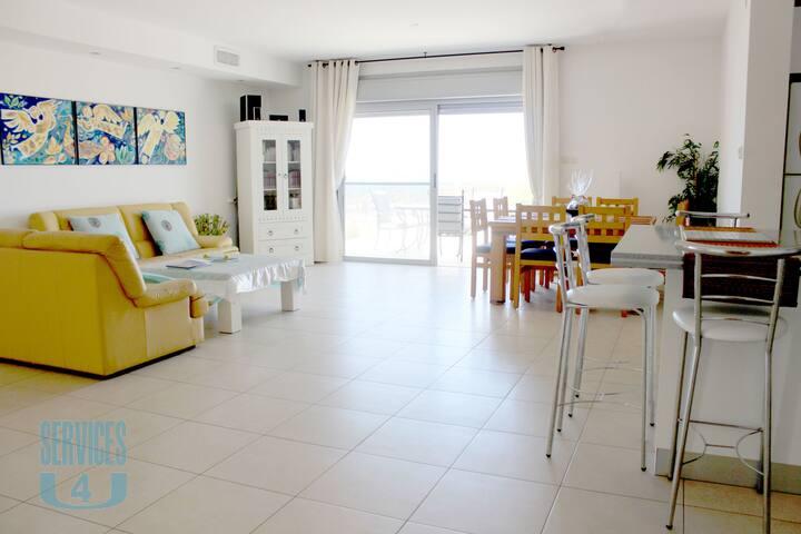Beautiful 4-room apartment in Costa del Sol