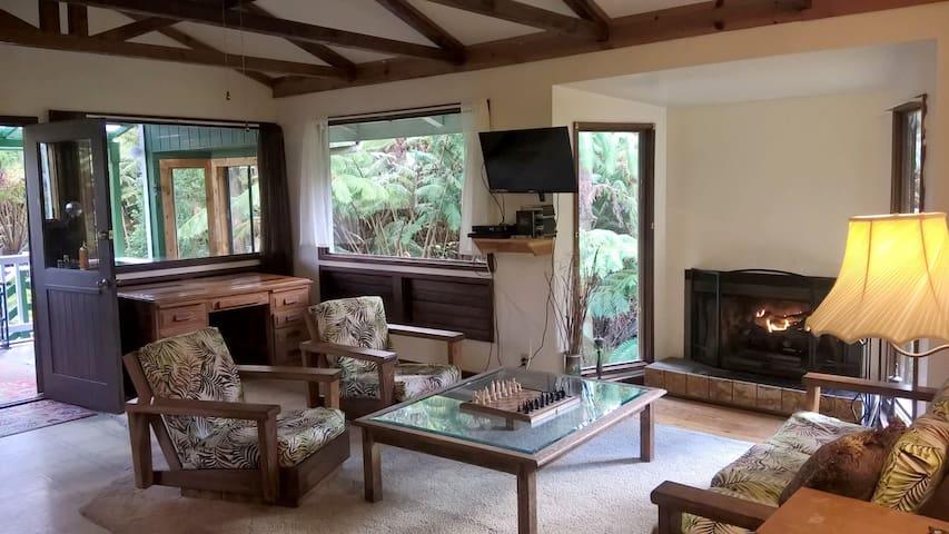 Volcano Forest Cottage